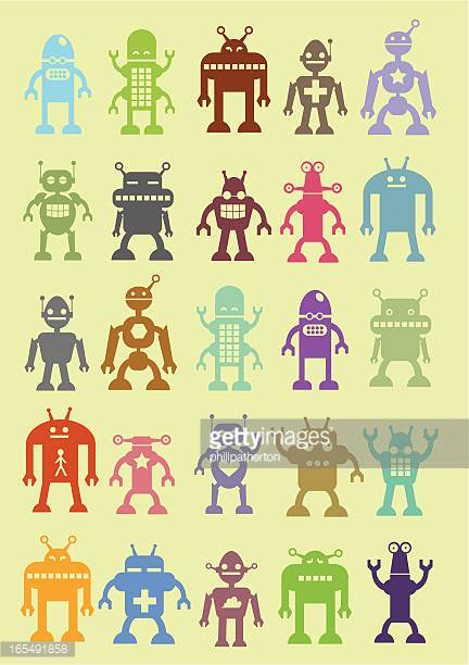 Robot Stock Illustrations And Cartoons.