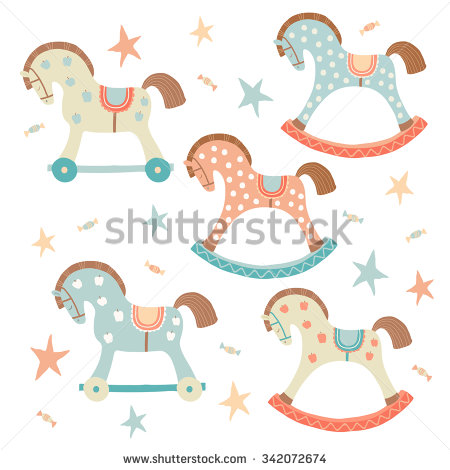 Showing post & media for Cartoon rocking horse baby.