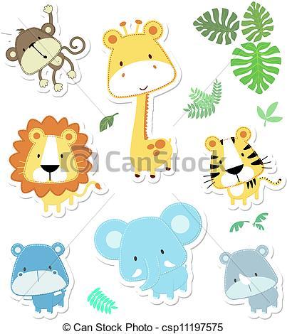 Safari animals Clipart and Stock Illustrations. 31,237 Safari.
