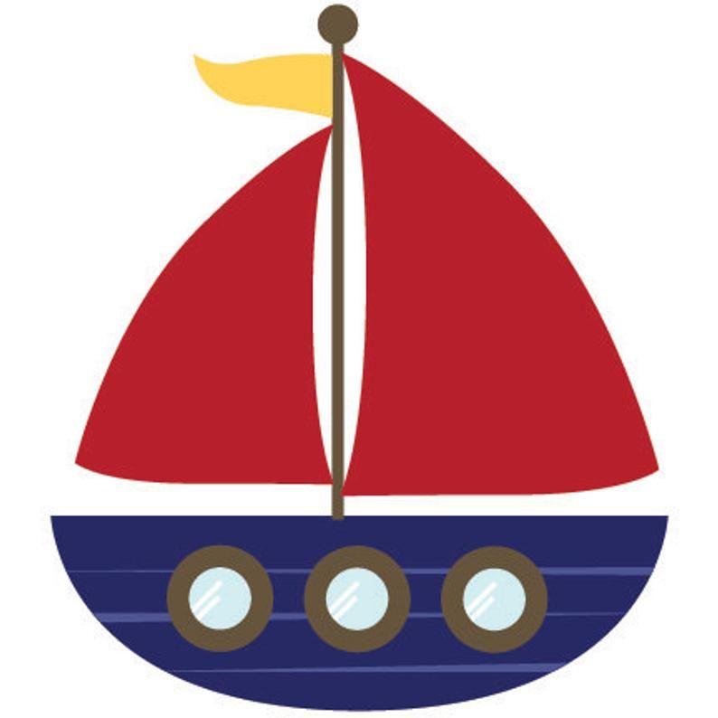 Professional Cute Nautical Clipart for Digital Scrapbooking.