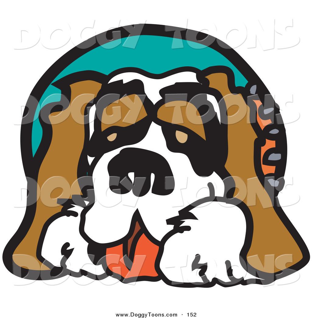 Royalty Free Saint Bernard Stock Doggy Designs.