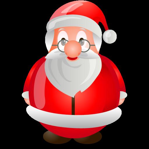 Cute Santa Christmas Clipart.