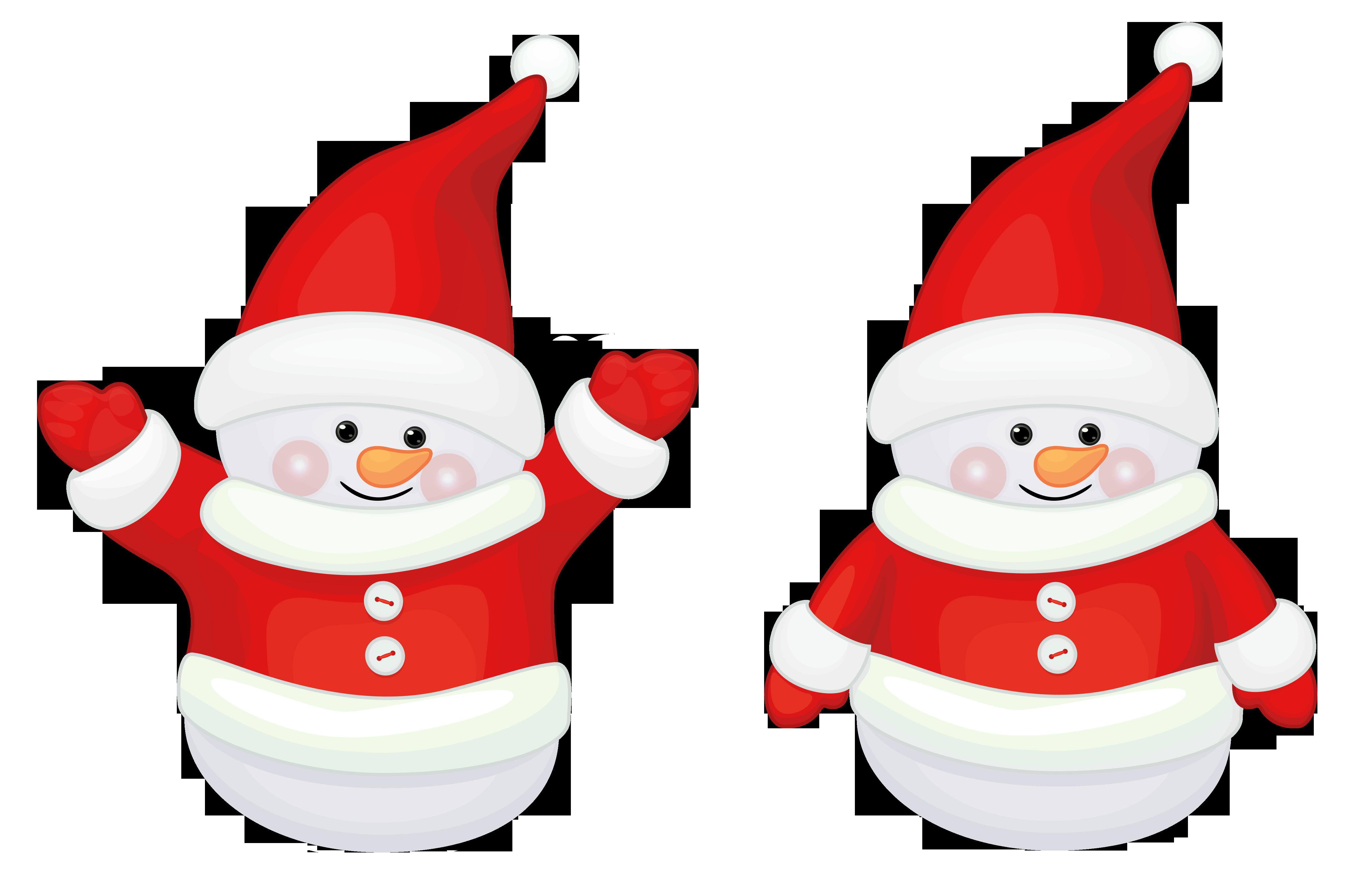 Cute Santa Claus Clip Art.