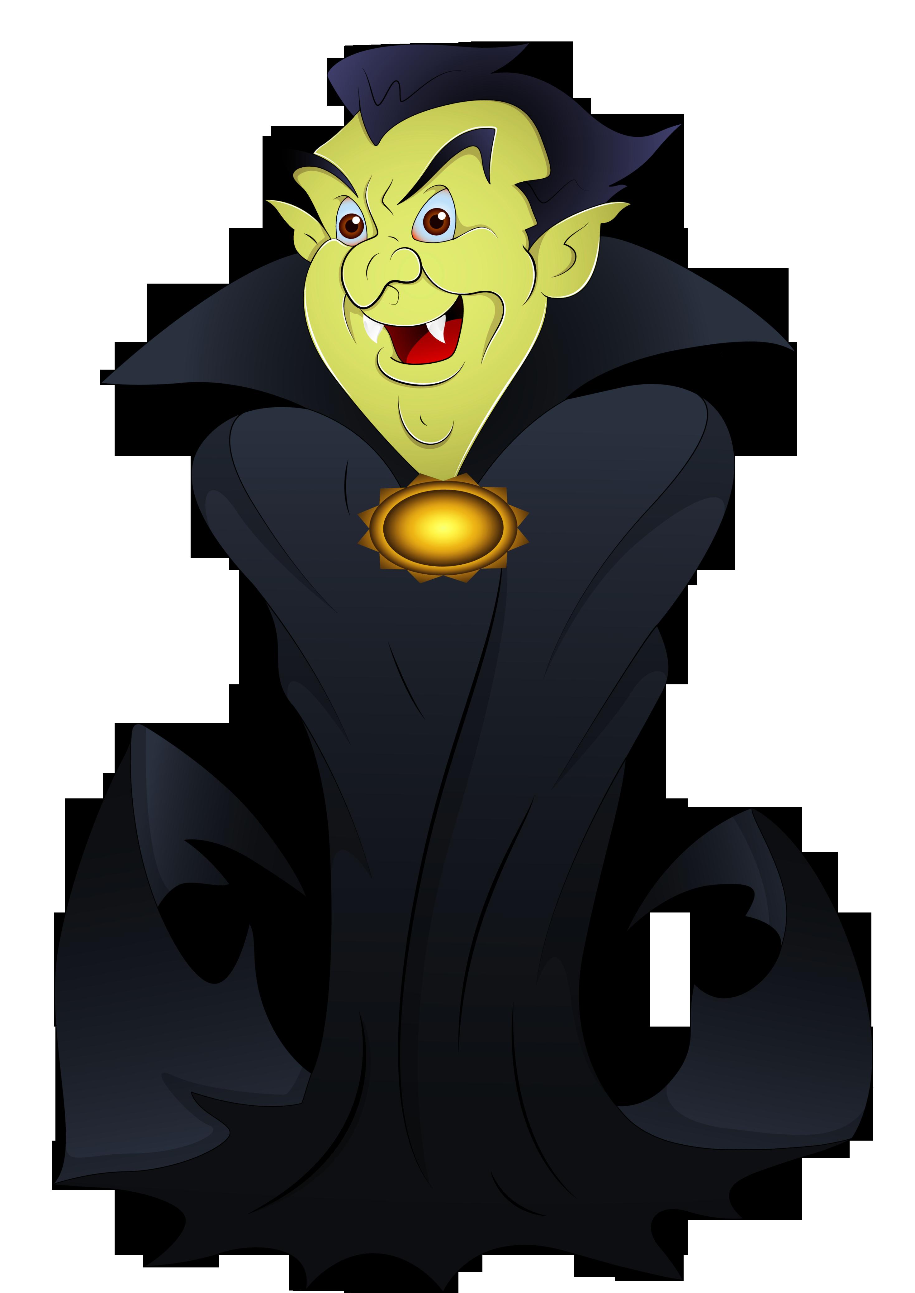 Scary Cute Vampire Clipart.