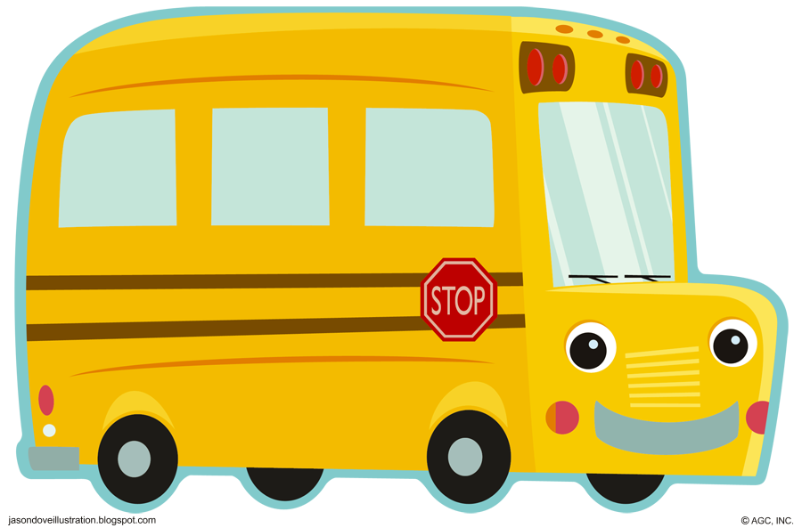 Cute clipart bus, Cute bus Transparent FREE for download on.