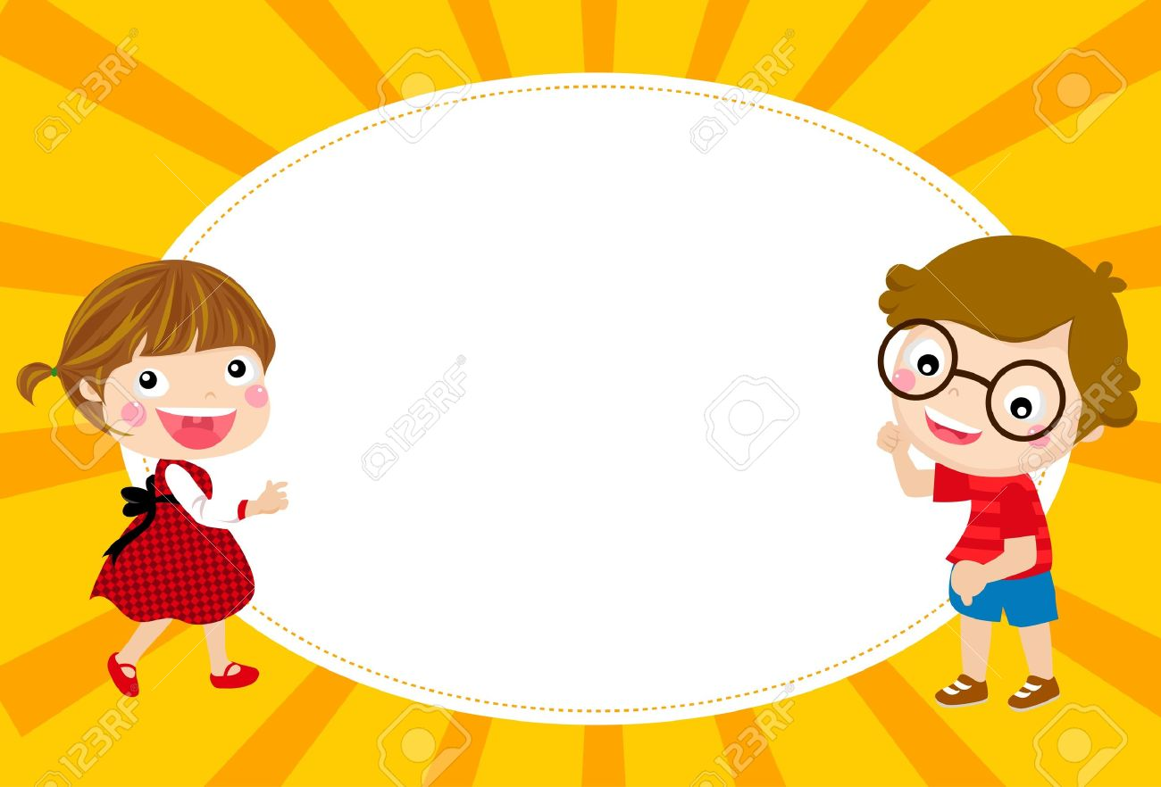 cute school clipart horizontal border #8