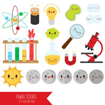 Image result for cute science.