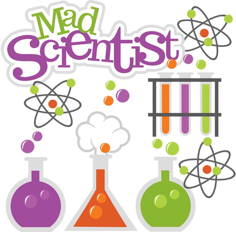 Science Cute Clipart.