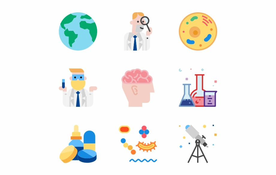 Science Cute Science Icon Png.
