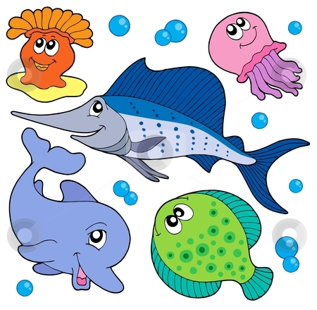 Cute Sea Animal Clipart#2112014.
