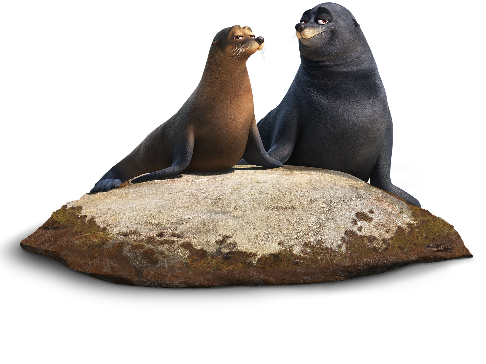 FINDING DORY Character Images Reveal Otters, Sea Lions, Loons, and.