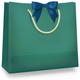 Cute Shopping Bag transparent png images & cliparts.