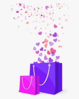 Free Cute Shopping Bag Clip Art with No Background.