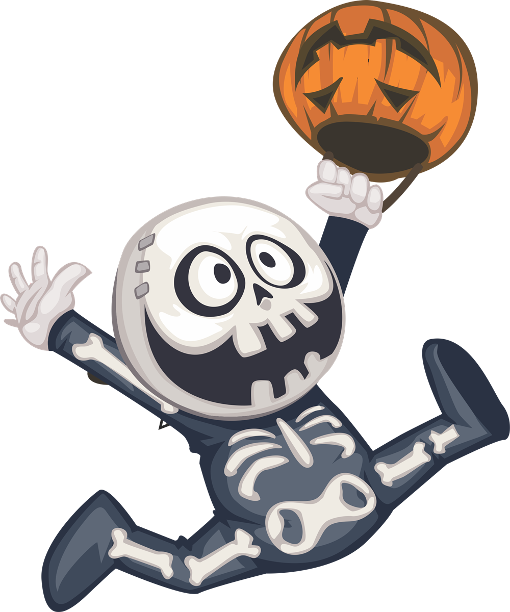 Cute skeleton clipart 4 » Clipart Station.