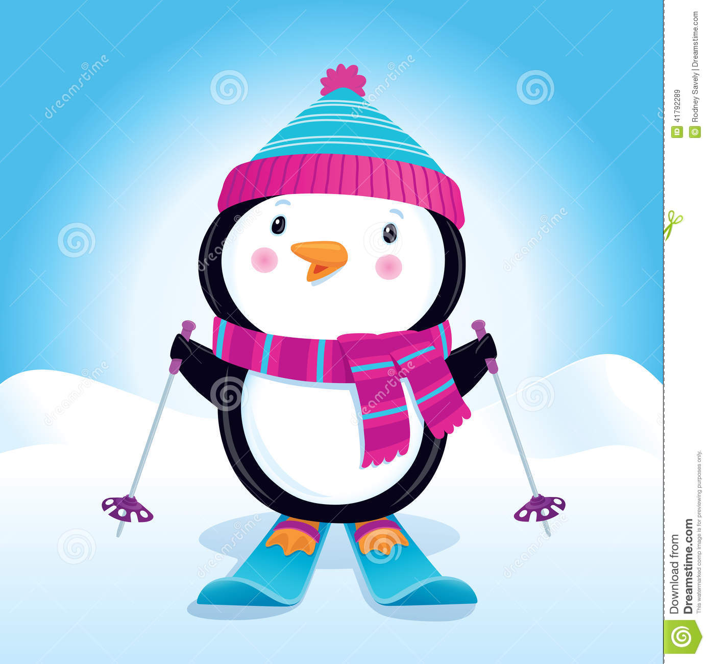 Cute Skiing Clipart Clipground