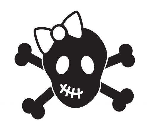 Cute Skull And Crossbones Clip Art 34570.