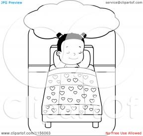 Cartoon Bed.