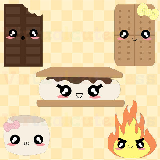 Cute Smores Clipart Clipground