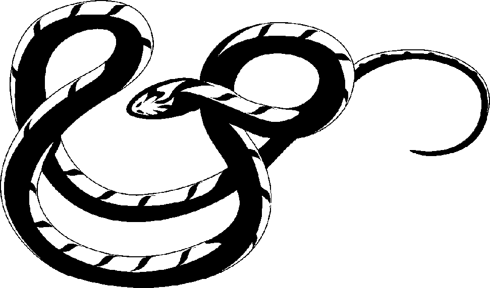 Vector and Cute Snake Clipart Black And White Free Clipart 11384.