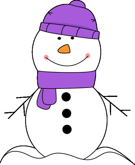 cute snowman clipart png #7