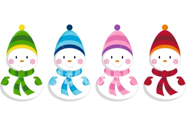 Cute Frosty The Snowman Head Clipart.
