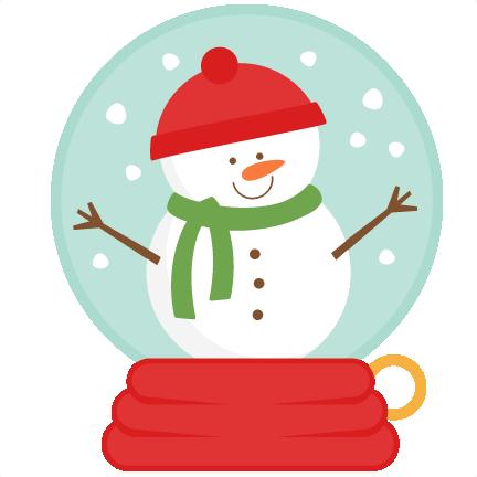 Snowman Snow Globe SVG scrapbook cut file cute clipart files for.