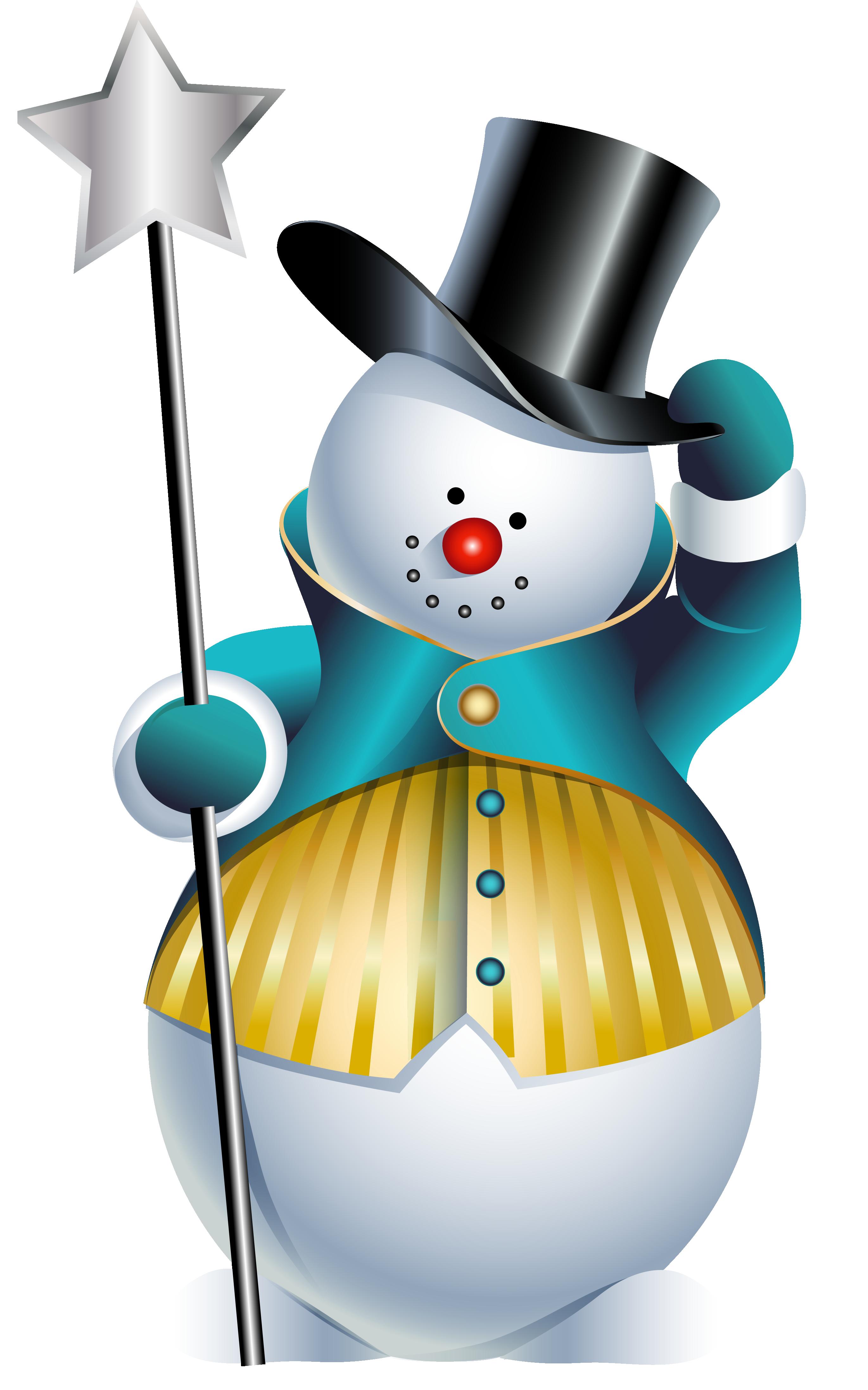 Cute Snowman Clipart Png.