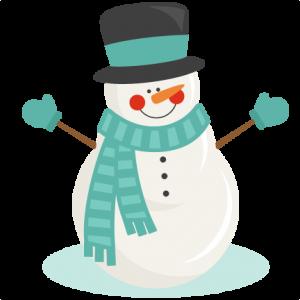 cute snowman clipart png #16