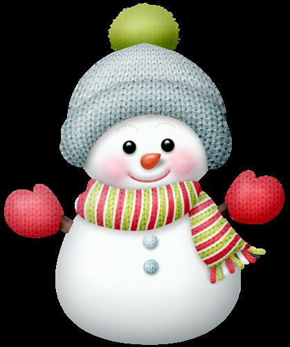 cute snowman clipart png #14