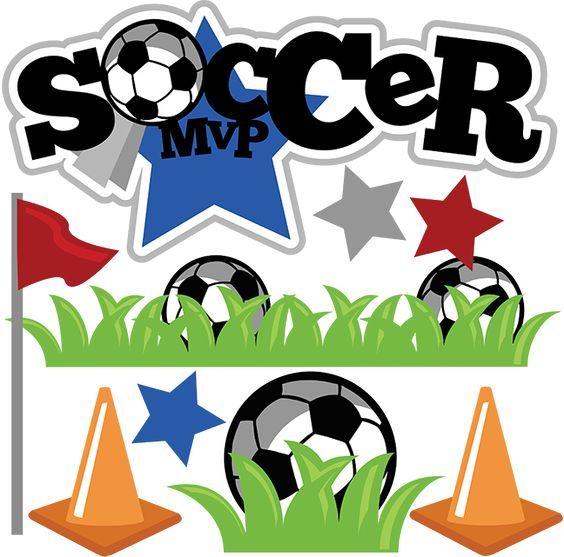 Soccer MVP SVG soccer clipart soccer ball clipart cute clip.