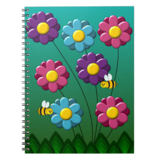 Cartoon Insects Notebooks & Journals.