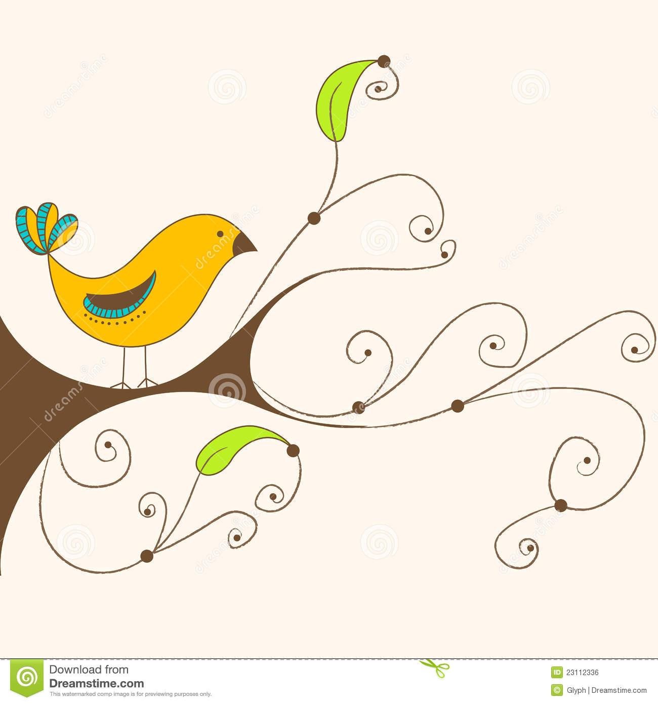 Showing post & media for Bird spring cartoon.