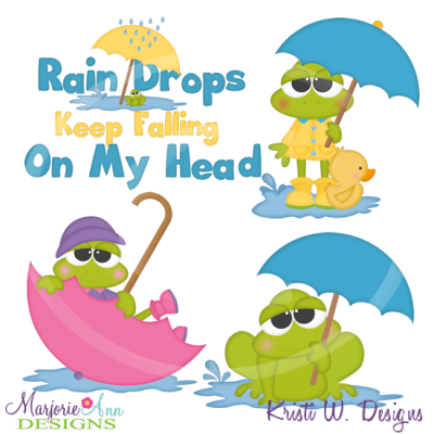 Spring Showers Clipart.