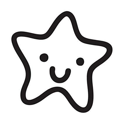 Amazon.com: Cute Happy Cartoon Star.