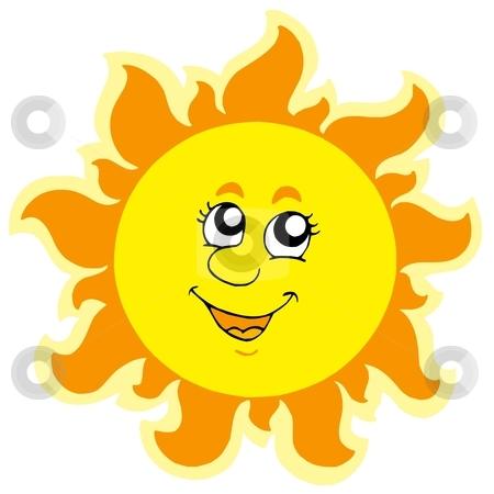 Cute Sun Clipart 9.