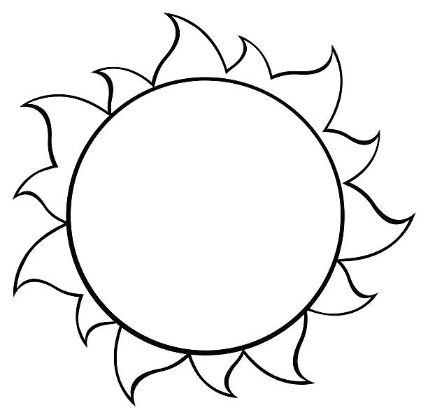 Sun Clipart Black And White & Free Sun Clipart Black And.