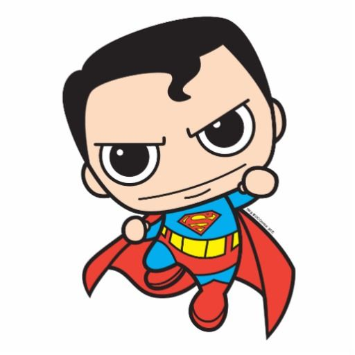 Showing post & media for Cute superman cartoon.