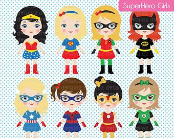 Girl Superhero Clipart & Girl Superhero Clip Art Images.