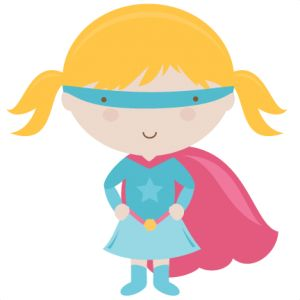 Supergirl Clipart Free.