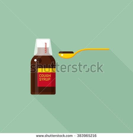 Syrup Bottle Stock Images, Royalty.