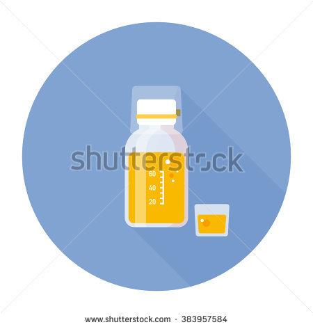 Cough Syrup Stock Images, Royalty.
