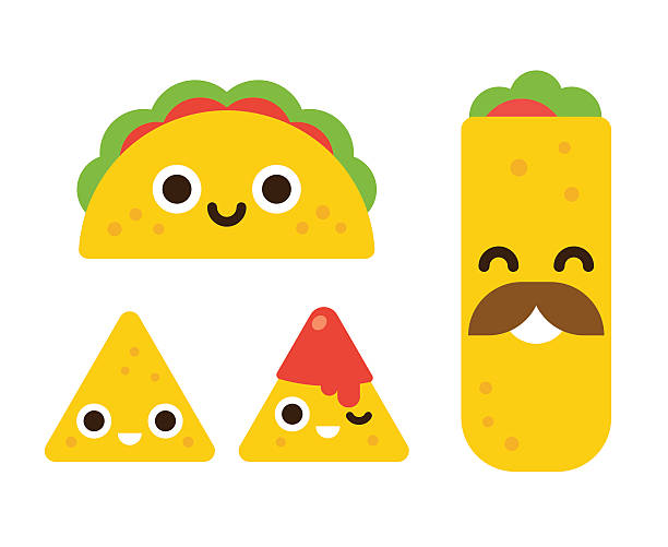 Cute taco clipart 6 » Clipart Station.