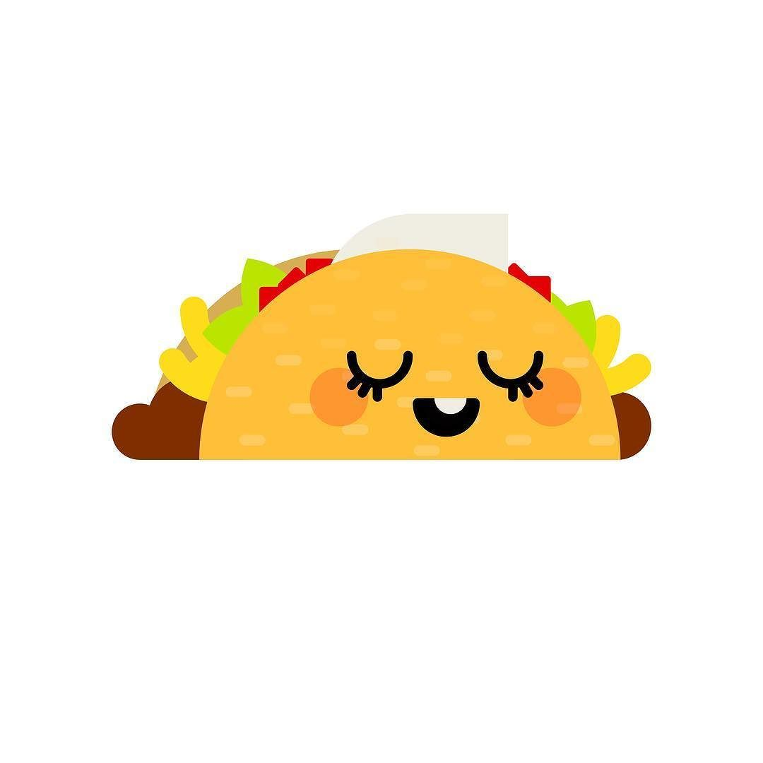 Happy #TacoTuesday! . #graphicdesign #illustration #etsy #taco.