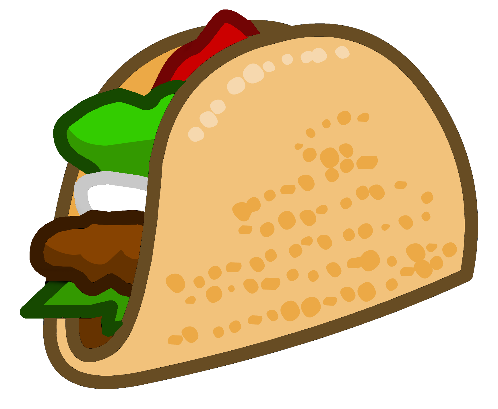 Vector and Taco Dinner Clipart 9615 Favorite ClipartFan.com.