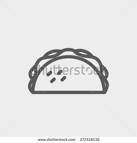 Similiar Taco Clip Art Black And White Keywords.