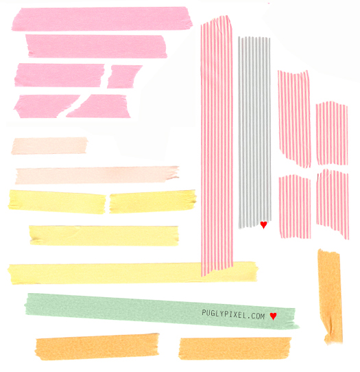 9 Sets of Free Digital Tape Strips.