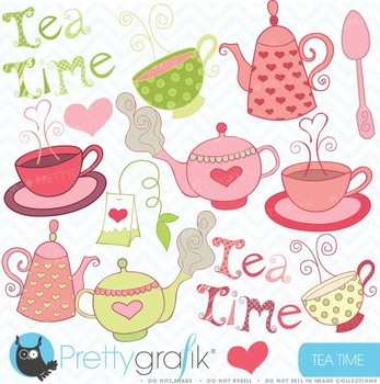 Teapot clipart, commercial use, vector graphics, digital clip art.