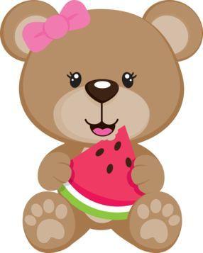 Teddy bear picnic bear minus desenhos infantis clip art.