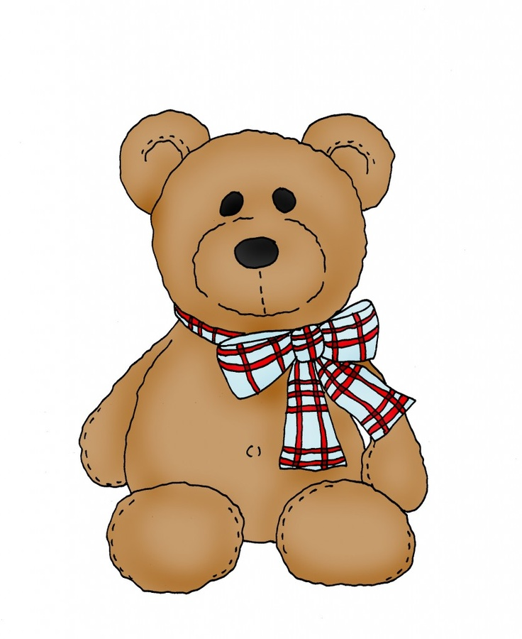 Cute teddy bear clipart 3 » Clipart Station.
