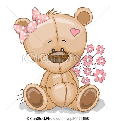Cute Teddy Bear.